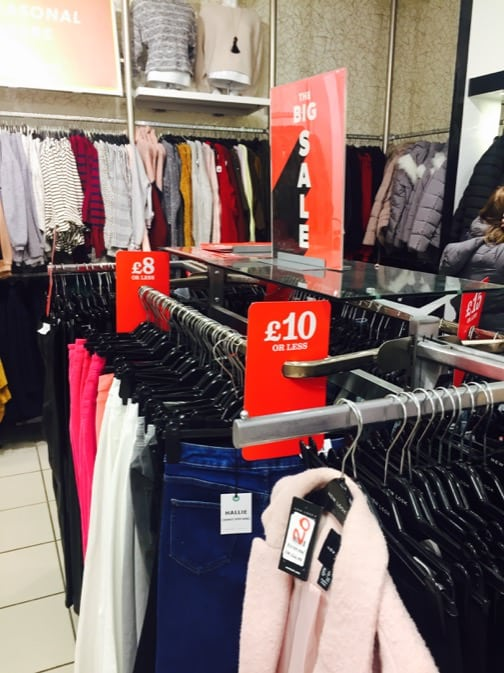 The BIG Sale is Now on at New Look
