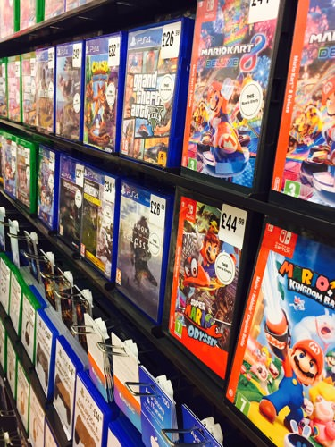 Look No Further than HMV for the Latest Games