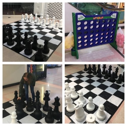 FREE Giant Games at Victoria Shopping Centre