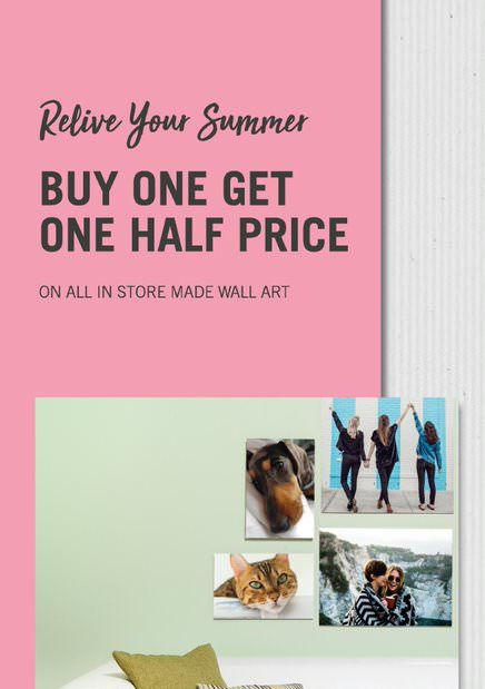 Relive Your Summer with Buy One Get One Half Price at Jessops