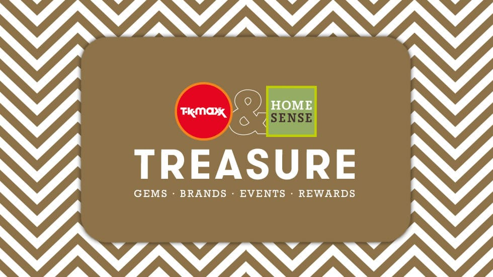 TK Maxx Treasure Cards