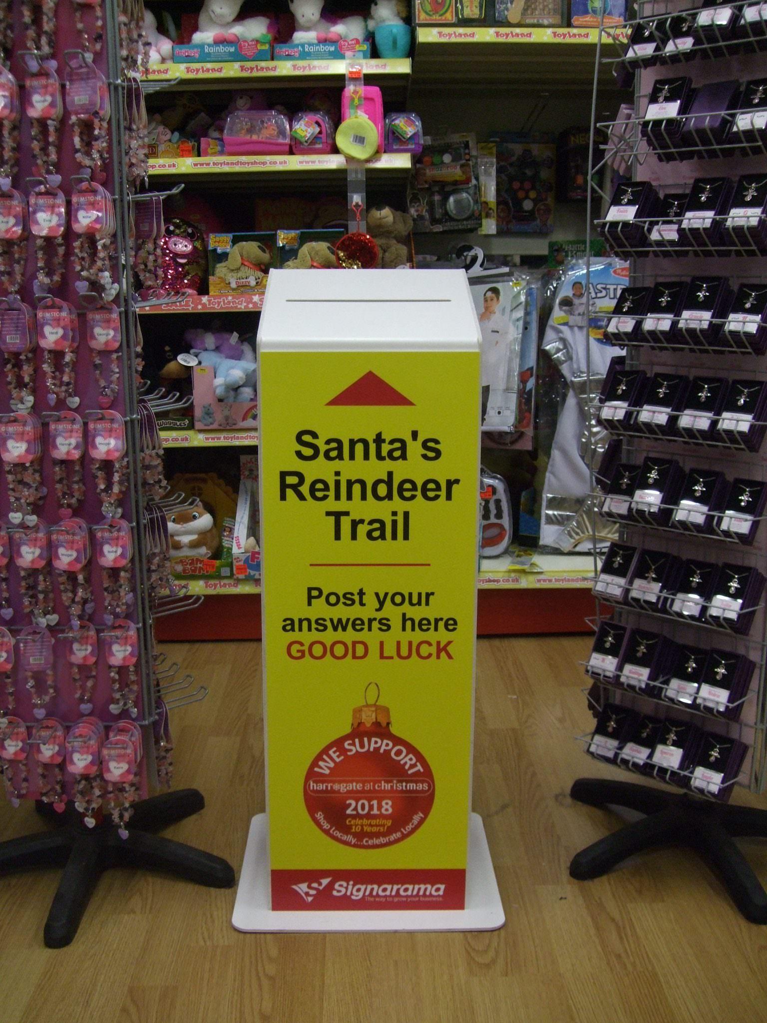 Santa's Reindeer Trail with Harrogate at Christmas