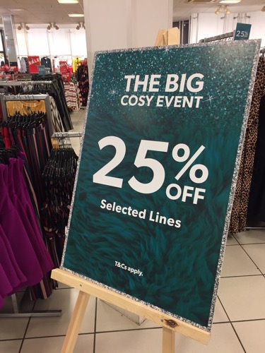 The Big Cosy Event at New Look