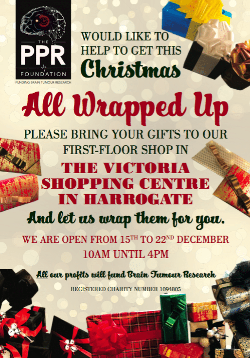 Christmas Gift Wrapping with The PPR Foundation