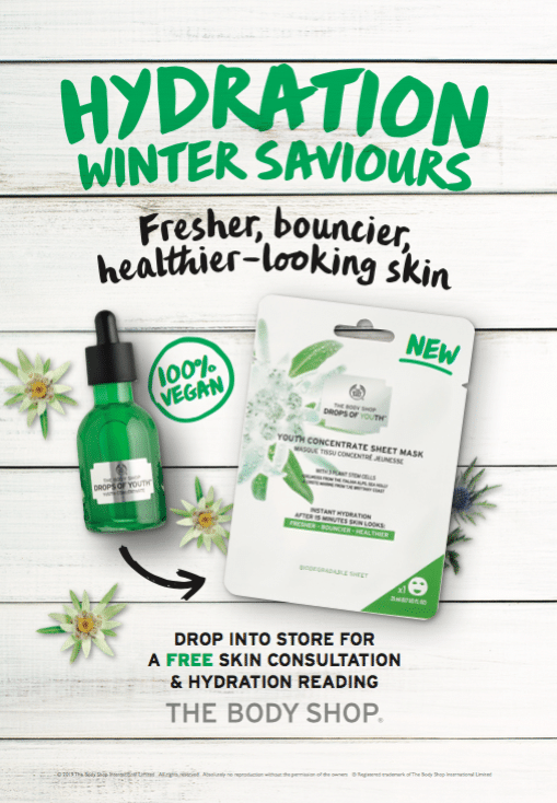 For fresher, bouncier and healthier skin