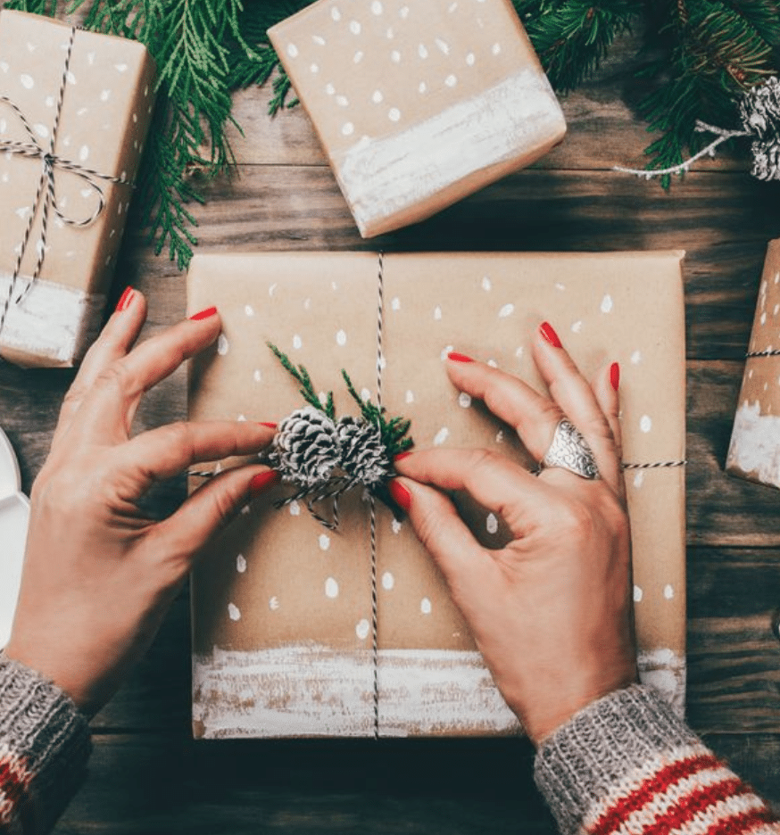 Christmas Gift Wrapping with Spark Support