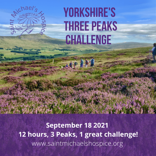 Yorkshire Three Peaks Challenge with St Michael's Hospice