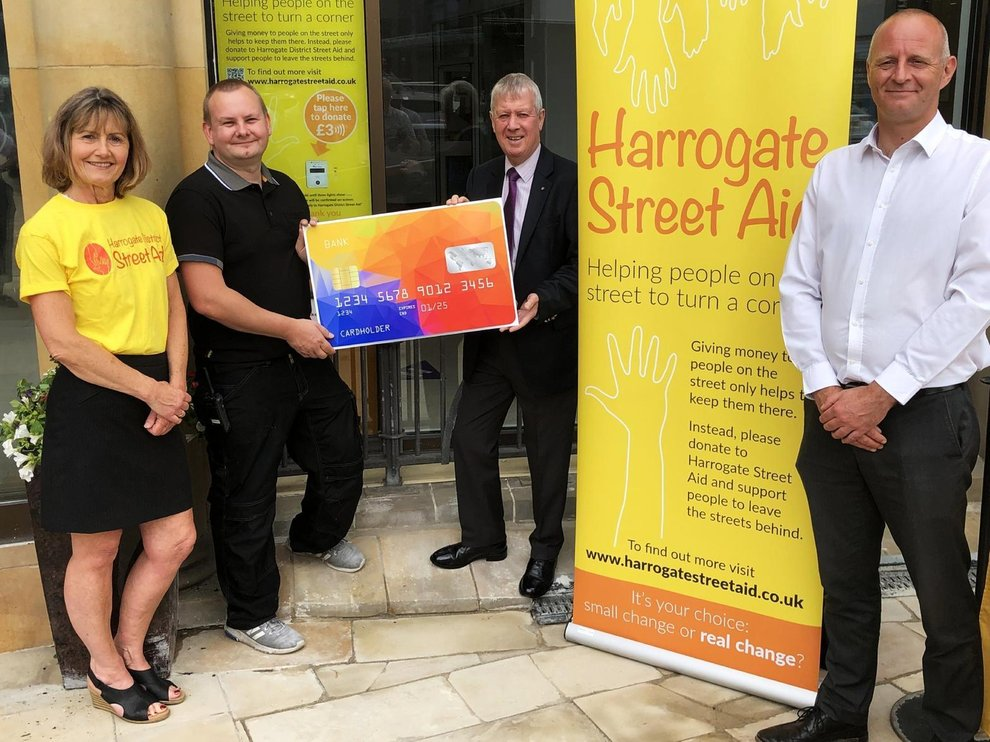 Donate to Harrogate Street Aid at Victoria Shopping Centre